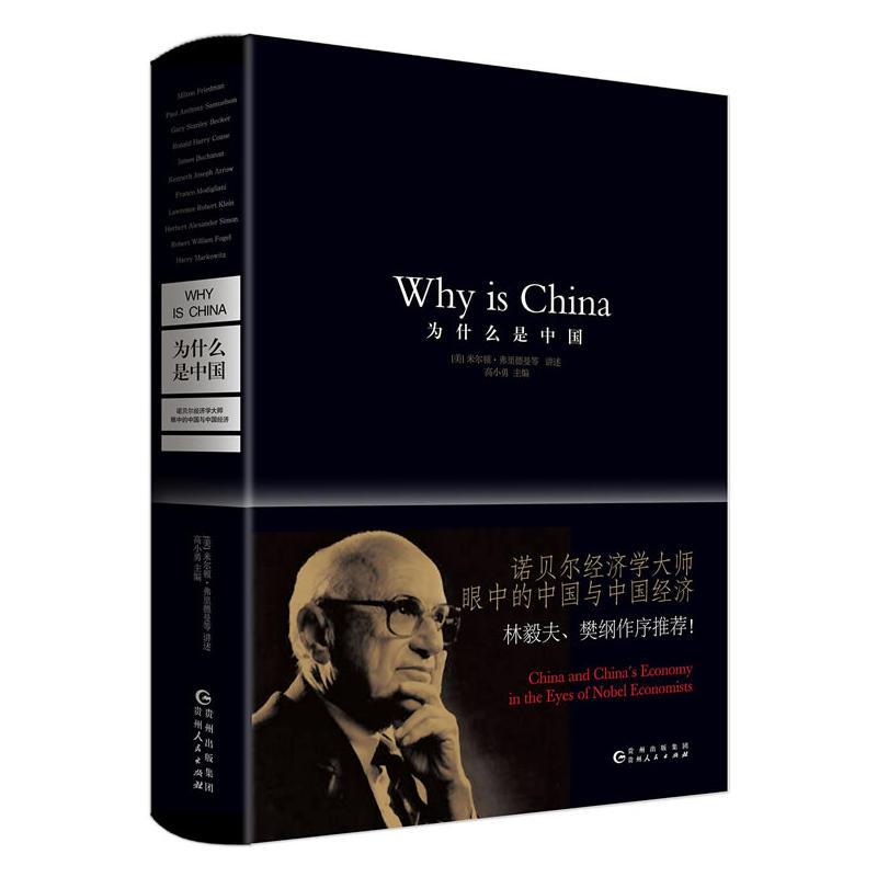 为什么是中国:诺贝尔经济学大师眼中的中国与中国经济(pdf+txt+epub+azw3+mobi电子书在线阅读下载)