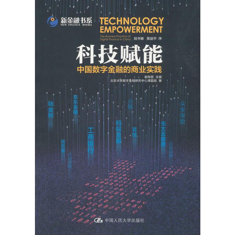 科技赋能:中国数字金融的商业实践(pdf+txt+epub+azw3+mobi电子书在线阅读下载)