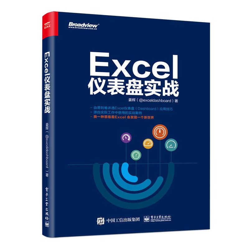 Excel仪表盘实战(pdf+txt+epub+azw3+mobi电子书在线阅读下载)